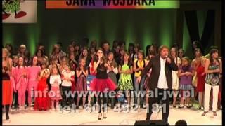 """XIII Festiwal Dzieci i Młodzieży """"Teczowe Piosenki Jana Wojdaka"""" 2012"""