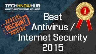 Best Free Antivirus 2015 / Best Internet Security 2015 - $20 Off - Review