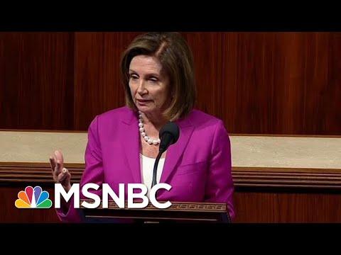 Nancy Pelosi: Trump's Comments About Congresswomen 'Digraceful, Disgusting ... Racist' | MSNBC