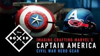 Imagine Crafting Marvel's Captain America Civil War Hero Gear | Disney | BOXED