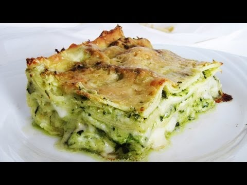How to make Pesto Lasagne (Vegetarian Lasagna with Pesto sauce)