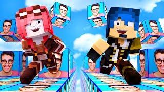 Minecraft ITA - LA CORSA DEI LUCKYBLOCK DI STEF!!