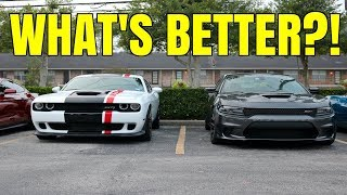 Which Hellcat Is Better? Dodge Challenger vs Dodge Charger