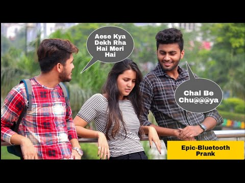 Epic-Bluetooth Prank On Public By Shelly Sharma -P4 Prank