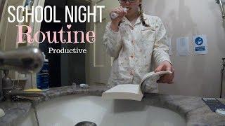 Productive School Night Routine