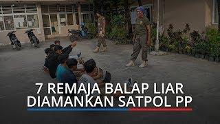 Balap Liar di Belakang Kantor Wali Kota Padang, 7 Remaja Diamankan Satpol PP, 3 Motor Diangkut