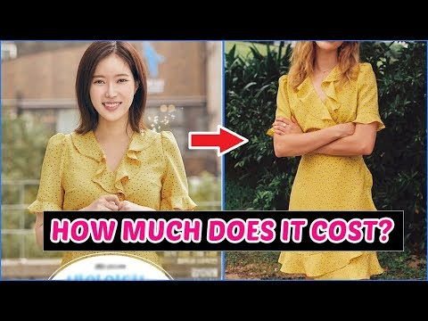 "How Much It Costs To Dress Like Kang Mi Rae & Soo Ah from ""My ID is Gangnam Beauty"""