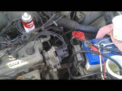 Ремонт Nissan Primera P11 промывка инжектора своими руками в домашних условиях