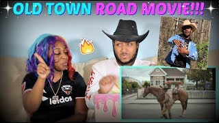 """Lil Nas X """"Old Town Road (Official Movie) Ft. Billy Ray Cyrus"""" REACTION!!"""
