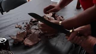 Chicken baked in Clay Under coals- GrateTV