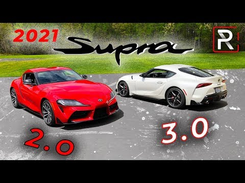 2021 Toyota Supra 2.0 & 3.0 – What Are The Differences?