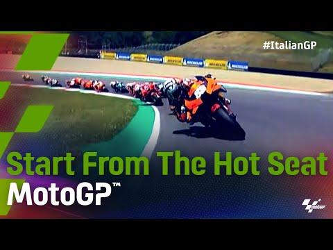 MotoGP 2021 第6戦イタリア 決勝スタート直後のオンボード映像