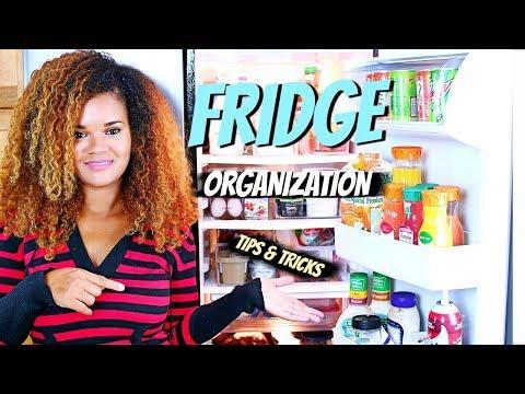 Fridge Organization - How to Organize the Fridge (Tips & Tricks)