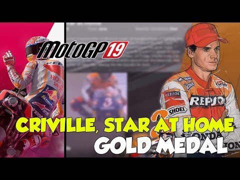 MotoGP 19 Criville, Star At Home Gold Medal (Historical Challenge)