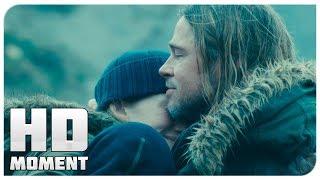 Концовка - Война миров Z (2013) - Момент из фильма