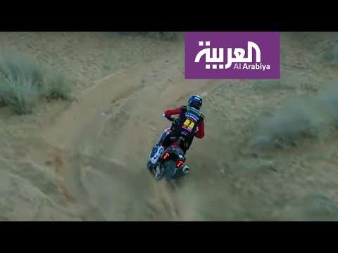 العرب اليوم - شاهد: تتويج المتسابقين في رالي دكار 2020