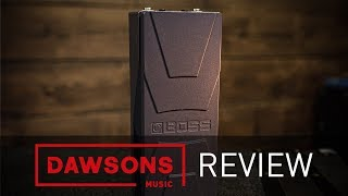 Perfect Gifts For Guitar Players | Under £100 | Boss EV-30 Dual Expression Pedal