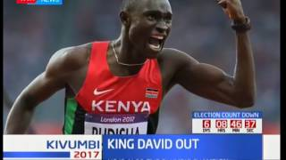 David Rudisha withdraws from world championship; King David out