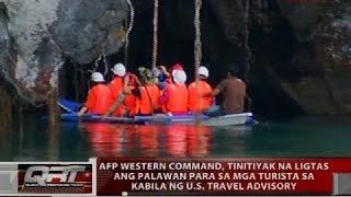 AFP Western Command, tinitiyak na ligtas ang Palawan para sa mga turista