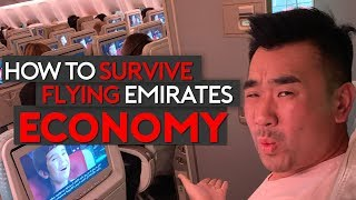 How to Survive Flying Emirates Economy Class (Top Tip)