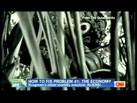 Paul Krugman Suggests A Space Alien Economy?
