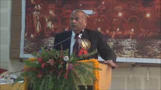 Dr Vikram Singh  During ICON 2017 At SMS Varanasi