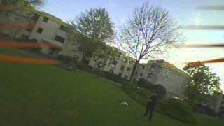 Thrashing around with my brushed Micro FPV Quad