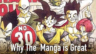 Gambar cover Why The Dragon Ball Z Manga is Great