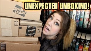 UNEXPECTED UNBOXING BOOK HAUL