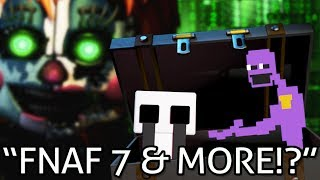 FNAF 7 COMING?! A NEW GAME + The FUTURE of Five Nights at Freddy