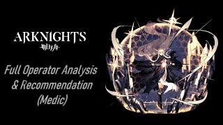 Silence  - (Arknights) - Arknights Full Operator Analysis----Medic Episode