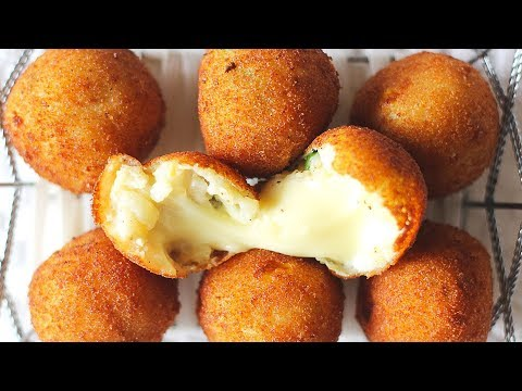 Cheese Corn Balls | Easiest Vegetarian Appetizer | Indian Appetizer Recipe | Kanak's Kitchen