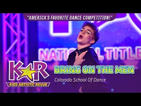 """""""Bring On The Men"""" from Colorado School Of Dance"""