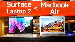 Surface Laptop 2 vs Macbook Air