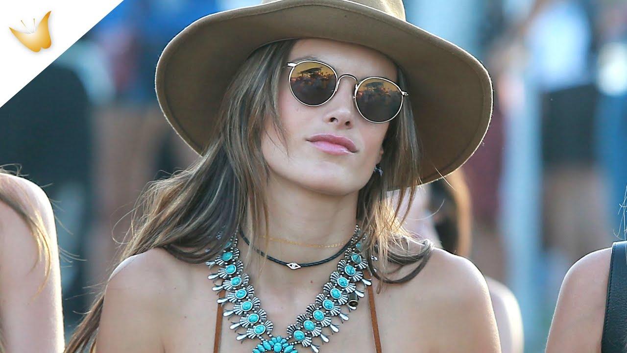 Estilo boho chic: tendencia hippie con Alessandra Ambrosio y Kendall Jener