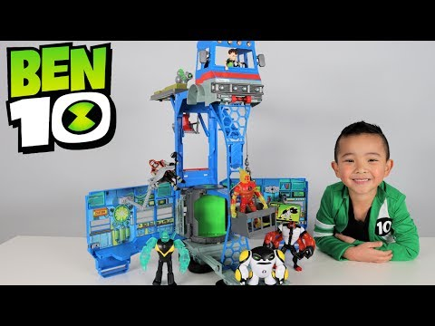 Download Ben 10 Toys Transforming Alien Playset Rustbucket Unboxing And Playing With Ckn Toys HD Mp4 3GP Video and MP3