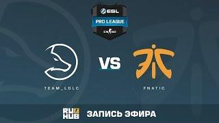 Team_LDLC vs. fnatic - ESL Pro League S5 - de_inferno [Enkanis, yxo]