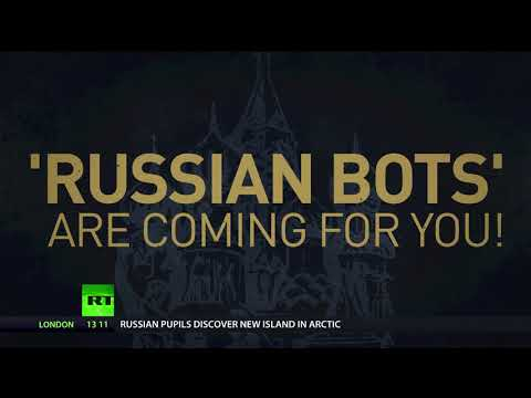 FINALLY Russian troll bots reveal themselves!