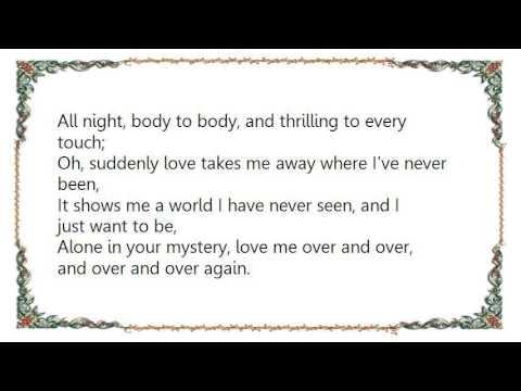 Chris de Burgh - Suddenly Love Lyrics