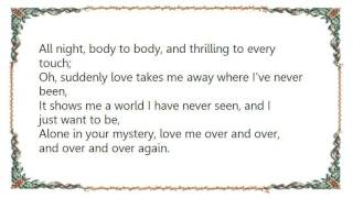 Chris de Burgh - Suddenly Love Lyrics
