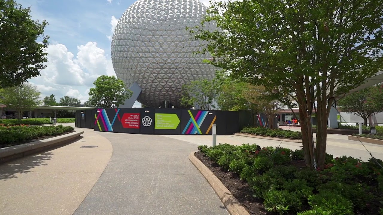 New EPCOT entrance reopening July 15