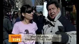 preview picture of video 'Mercado El Rastro, Madrid, España'