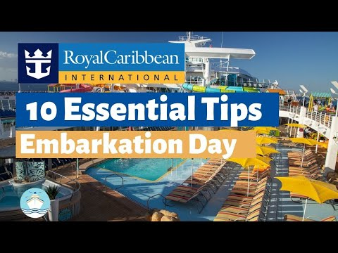 10 Royal Caribbean Cruise Tips for Embarkation Day in 2020!