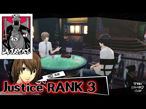 Persona 5 The Royal - Akechi NEW Confidant Justice RANK 3 CUTSCENE