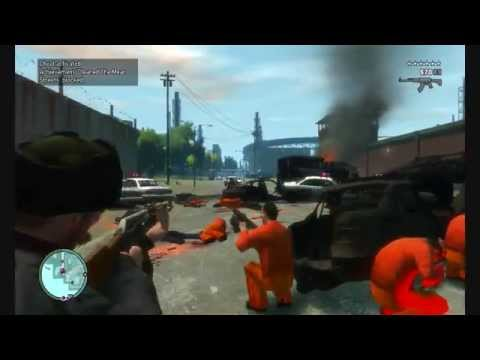 GTA 4 - Prison Brake