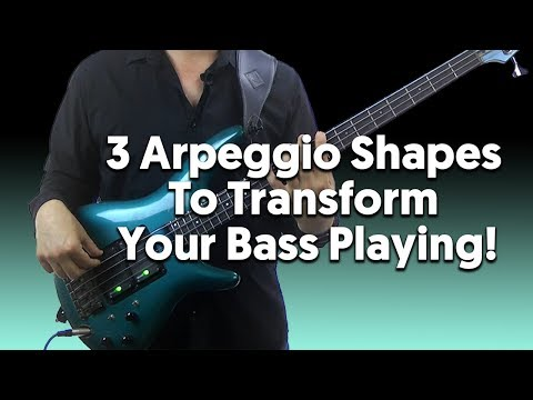 Download 3 Arpeggio Patterns That Can Transform Your Bass Playing HD Mp4 3GP Video and MP3