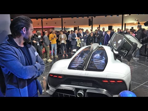A Closer Look - £2.4 Million Mercedes AMG Project One | MrJWW