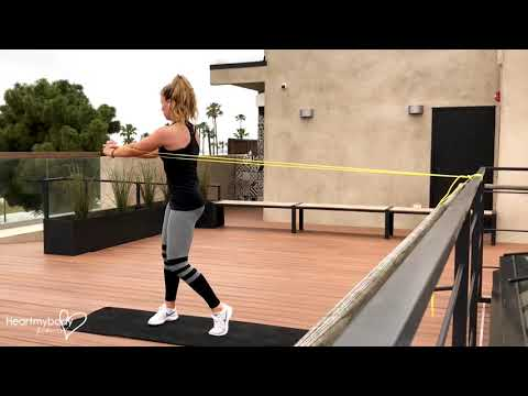 Pallof Press to Core Rotation with Superband