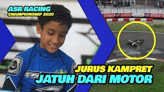 DRONE PEMBALAP CILIK Jatuh Dari Motor Balap ASR Racing Championship 2020 Sentul