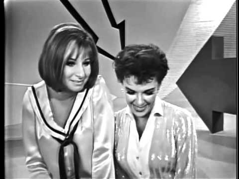 Judy Garland + Barbra Striesand